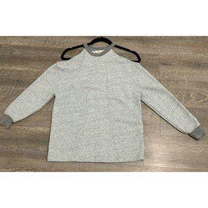 AG Adriano Goldschmied Gray Long Sleeve Sweatshirt